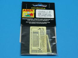 ABER 1/35 35G07 Grille covers for Russian Tank T-34