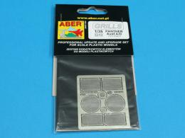 ABER 1/35 35G10 Grilles for german tank PzKpfw V Ausf.A/D Panther (Sd.Kfz.181)