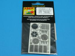 ABER 1/35 35G14 Grilles for german tank Sd.Kfz.171 Panther, Ausf.G late model