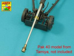 ABER 1/35 35L-025N German 75mm Barrel for Pak 40 - Late model