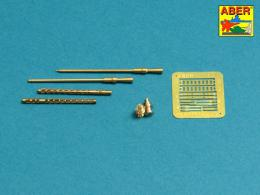 ABER 1/35 35L-222 Set of 2 barrels for Russian 14,5 mm machine guns KPVT used on ZPU-2 or ZPU-4