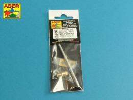 ABER 1/35 35L-242 U.S 90 mm M3 barrel with muzzle brake for T26E3 or Pershing