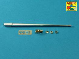 ABER 1/35 35L-245 7,5 cm barrel with muzzle brake for Panther Ausf.A