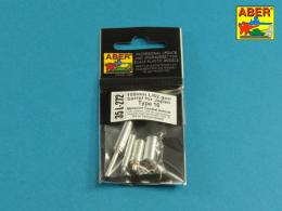 ABER 1/35 35L-272 105mm L/52 gun barrel for Japan Type 16 MCV