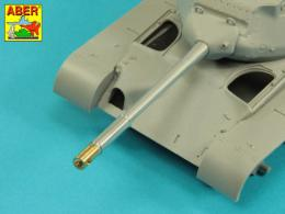 ABER 1/35 35L-284 90 mm M-36 tank barrel cyrindrical Muzzle Brake without mantlet cover for U.S. M47 Patton