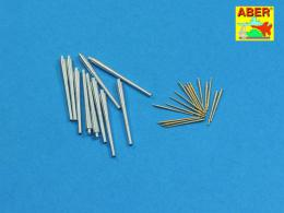 ABER 1/400 L08 Set of barrels for Royal Navy Battleships King George V/ Prince of Wales 356 mm x 10/ 133 mm x 16