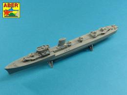 ABER 1/400 L11 Set of barrels for Polish Destroyer ORP Blyskawica 102mm x 8/40mm x 4/20mm x 4