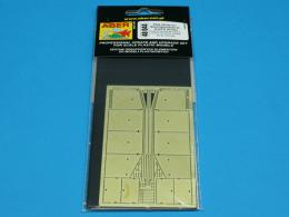 ABER 1/48 044 Side Skirts for german anti-tank self proppeled gun Sturmgeschütz III Ausf.G - early