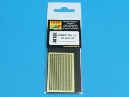 ABER 1/48 A05 AMMO BELTS .30 and .50