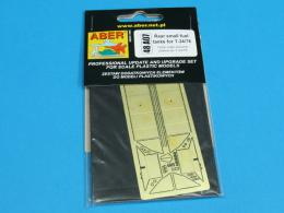 ABER 1/48 A07 Rear small fuel tanks for russian tank T-34/76