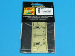 ABER 1/48 A10 Rear boxes for Panther tanks and Jagdpanther