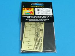 ABER 1/48 A17 Box-type lubricant tanks and round tank holders
