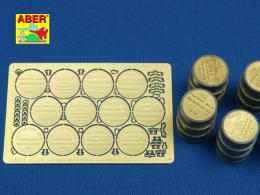 ABER 1/48 A18 German WWII 200 ltr. fuel drum covers