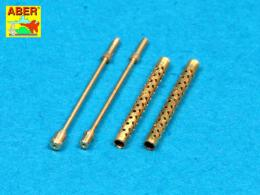ABER 1/48 48L-19 Barrels for U/S/ cal /30 machine guns Browning M-1919 A4
