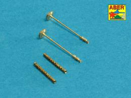 ABER 1/48 48L-21 Set of 2 barrels for German machine guns MG34