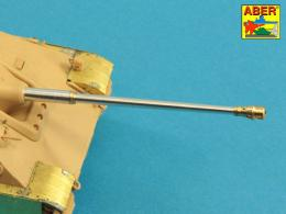 ABER 1/48 48L-22 German Two part 88mm Pak 43/3 (L/71) Barrel for Jagdpanther G1-Late G2