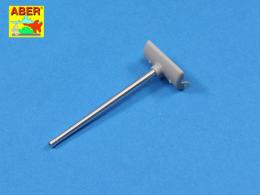 ABER 1/48 48L-26  U.S. 76 mm M1A2 barrel with thread protector for Sherman M4 series tanks