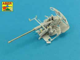 ABER 1/48 48L-30 Barrel for 40 mm Bofors Anti Aircraft Gun