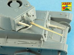 ABER 1/48 48L-32 Set of 2 Barrels for ZB 37 machine guns [used on Pz.35/38(t)]