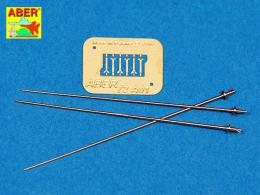 ABER 1/72 A01 German 2m antennas x3 pcs