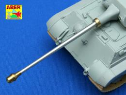ABER 1/72 72L-36 88mm KwK 43 L/71 German tank barrel for Tiger II early Porsche turm