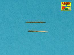 ABER 1/72 72L-50 Set of 2 barrels for German machine guns MG34