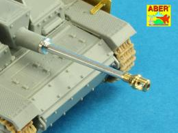 ABER 1/72 72L-53 German StuK.40 L/48 75mm Barrel early model muzzle brake for StuG. III Ausf.F/8 and StuG. III Ausf.G early