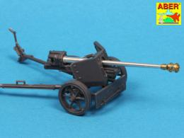 ABER 1/72 72L-56 German 75mm gun barrel for PaK40 with late muzzle brake
