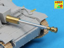 ABER 1/72 72L-60 German StuK.40 L/48 75mm Bartel with middle model muzzle brake for StuG. III Ausf.G middle