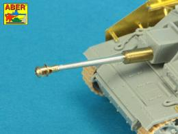 ABER 1/72 72L-65 German StuK.40 L/48 75mm Bartel with middle model muzzle brake for StuG. III Ausf.G late
