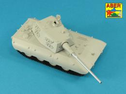 ABER 1/72 72L-68 128mm KwK 44 L/65 barrel for German E-100 Super Heavy Tank