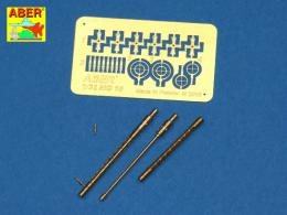 ABER 1/32 A32001 Set of 2 barrels for German 7,92 mm MG 15 aircraft machine guns