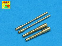 ABER 1/32 A32005 Set of 2 barrels for German 13mm aircraft machine guns MG 131 (early type)