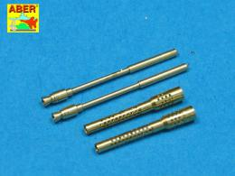 ABER 1/32 A32006 Set of 2 barrels for German 13mm aircraft machine guns MG 131 (middle type)
