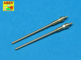 ABER 1/32 A32007 Set of 2 barrels for German aircraft 20mm machine guns MG 151/20