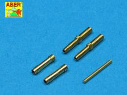 ABER 1/32 A32010 Set of 2 barrels for German aircraft 30mm machine cannons MK 108 with blast tube