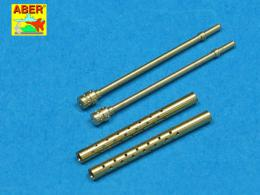ABER 1/32 A32012  Set of 2 barrels for Japanese 7,7 mm Type 97 aircraft machine guns