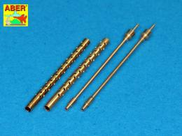 ABER 1/32 A32013 Set of 2 barrels for 13,2 mm Japanese Type 3 aircraft machine guns used on Mitsubishi A6M5b/c/A6M7/A6M8