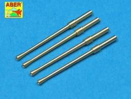 ABER 1/32 A32014 Set of 4 barrels for Japanese 20 mm Type 99 aircraft machine cannons