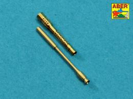 ABER 1/32 A32021 Set of 2 barrels for German 13mm aircraft machine guns MG 131 (late type)