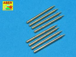 ABER 1/32 A32109 Set of 8 turned cal .50 (12,7mm) U.S. Browning M2 barrels for P-47 Thunderbolt