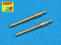 ABER 1/48 A48005 Set of 2 barrels for German 13mm aircraft machine guns MG 131 (early type)