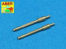 ABER 1/48 A48006 Set of 2 barrels for German 13mm aircraft machine guns MG 131 (middle type)