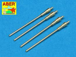 ABER 1/48 A48007 Set of 4 barrels for German aircraft 20mm machine guns MG 151/20