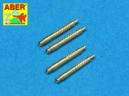 ABER 1/48 A48011  Set of 4 barrel tips for German 13 mm MG 131 aircraft machine gun