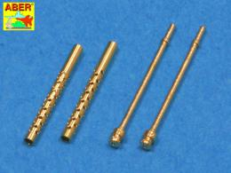 ABER 1/48 A48012 Set of 2 barrels for Japanese 7,7 mm Type 97 aircraft machine guns