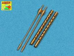 ABER 1/48 A48013 Set of 2 barrels for Type 3 MG