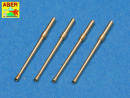 ABER 1/48 A48014 Set of 4 barrels for Japanese 20 mm Type 99 aircraft machine cannons