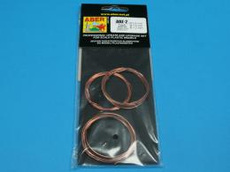 ABER Wires set (diameter 0,8/ 1,0/ 1,2 mm , length 1m each)