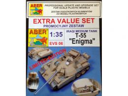 ABER 1/35 EVS-06 T-55 Enigma Special Set for TAM